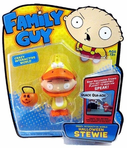 Playmates Family Guy Series 1 Voice Activated Action Figure Halloween Stewie