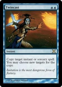 Magic the Gathering Tenth Edition Single Card Rare #120 Twincast