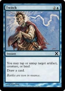 Magic the Gathering Tenth Edition Single Card Common #121 Twitch