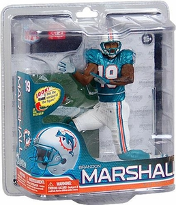 McFarlane Toys NFL Sports Picks Series 26 Action Figure Brandon Marshall (Miami Dolphins) Green Jersey
