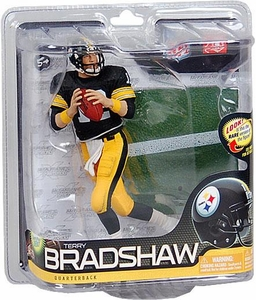 McFarlane Toys NFL Sports Picks Series 26 Action Figure Terry Bradshaw (Pittsburgh Steelers) Black Jersey