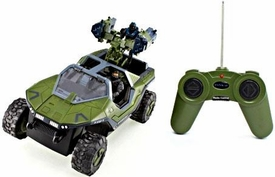 NKOK Halo Radio Control 8 Inch R/C Vehicle Rocket Warthog with Commander Carter & Noble 6