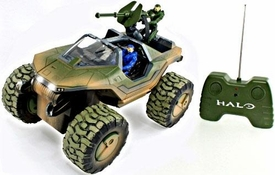 NKOK Halo Radio Control 14 Inch R/C Vehicle Off-Road Warthog with Master Chief & Blue Spartan