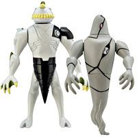 Ben 10 Alien Creation Chamber Mini Figure 2-Pack Ripjaws & Ghostfreak