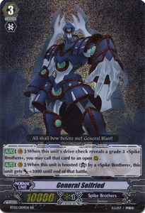 Cardfight Vanguard ENGLISH Onslaught of Dragon Souls Single Card RR Rare BT02-009EN General Seifried