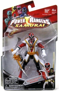 Power Rangers Samurai 4 Inch Action Figure SUPER Samurai Ranger Fire [Red]