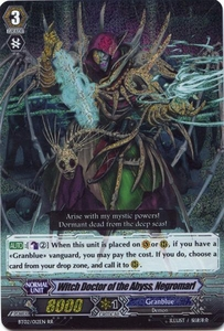 Cardfight Vanguard ENGLISH Onslaught of Dragon Souls Single Card RR Rare BT02-012 Witch Doctor of the Abyss, Negromarl