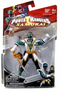 Power Rangers Samurai 4 Inch Action Figure SUPER Samurai Ranger Forest [Green]
