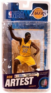 McFarlane Toys NBA Sports Picks Series 18 Action Figure Ron Artest (Los Angeles Lakers) Yellow Jersey
