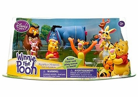 Disney Winnie The Pooh Exclusive 7 Piece PVC Figure Collector Set [Winnie, Tigger, Piglet, Eeyore, Rabbit, Owl & Kanga with Roo] {Random Package}