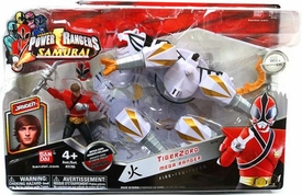 Power Rangers Samurai Vehicle & Action Figure TigerZord & MEGA Red Ranger Jayden