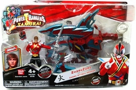 Power Rangers Samurai Vehicle & Action Figure SharkZord & Shark Attack Ranger Jayden