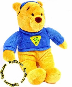 Disney Exclusive 5 Inch Mini Plush Pooh Bear Super Sleuth Costume