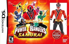Nintendo DS Exclusive Video Game Power Rangers Samurai [Exclusive Action Figure Included]