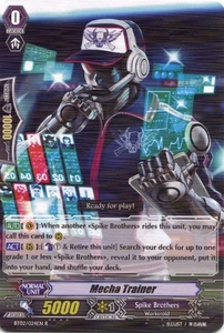 Cardfight Vanguard ENGLISH Onslaught of Dragon Souls Single Card Rare BT02-024EN Mecha Trainer BLOWOUT SALE!