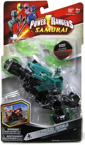 Power Rangers Samurai Forest Sword Cycle with Mega Green Ranger