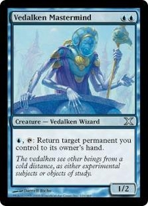 Magic the Gathering Tenth Edition Single Card Uncommon #123 Vedalken Mastermind