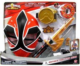 Power Rangers Samurai Fire [Red] Ranger Training Gear [Version 2]