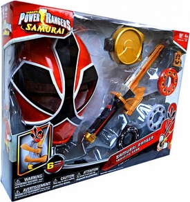 Power Rangers Samurai Fire [Red] Ranger Training Gear [Version 1]