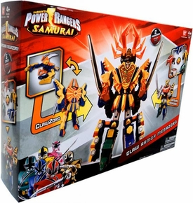 Power Rangers Samurai Deluxe DX Action Figure 2-Pack Claw Armor Megazord