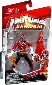 Power Rangers Samurai 4 Inch Action Figure SAMURAI Ranger Fire [Red]