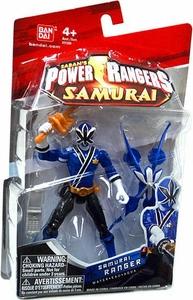 Power Rangers Samurai 4 Inch Action Figure SAMURAI Ranger Water [Blue]
