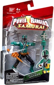 Power Rangers Samurai 4 Inch Action Figure SAMURAI Ranger Forest [Green]