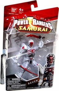 Power Rangers Samurai 4 Inch Action Figure Deker