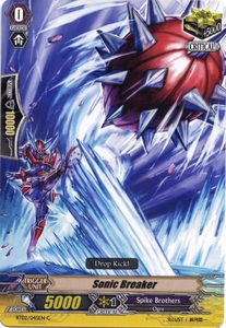 Cardfight Vanguard ENGLISH Onslaught of Dragon Souls Single Card Common BT02-045EN Sonic Breaker