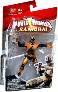 Power Rangers Samurai 4 Inch Action Figure MEGA Ranger Light [Black & Gold]