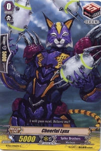 Cardfight Vanguard ENGLISH Onslaught of Dragon Souls Single Card Common BT02-046EN Cheerful Lynx