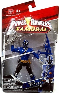 Power Rangers Samurai 4 Inch Action Figure MEGA Ranger Water [Blue]