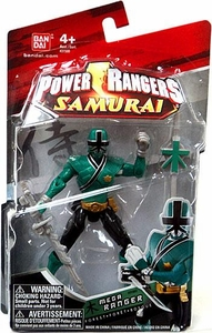 Power Rangers Samurai 4 Inch Action Figure MEGA Ranger Forest [Green]