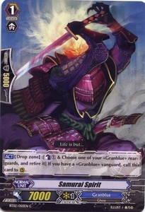 Cardfight Vanguard ENGLISH Onslaught of Dragon Souls Single Card Common BT02-050EN Samurai Spirit
