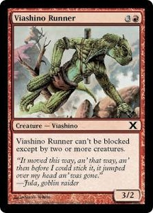 Magic the Gathering Tenth Edition Single Card Common #245 Viashino Runner