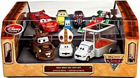 Disney / Pixar CARS 2 Movie Exclusive 1:48 Die Cast Car 8-Pack Holy Moly [Includes Pope & Popemobile!]