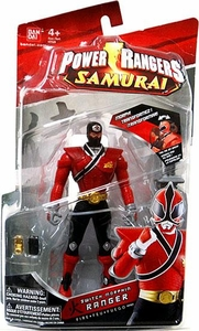 Power Rangers Samurai 6.5 Inch Action Figure SWITCH Morphin' Red Ranger