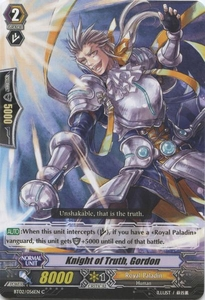 Cardfight Vanguard ENGLISH Onslaught of Dragon Souls Single Card Common BT02-056EN Knight of Truth, Gordon