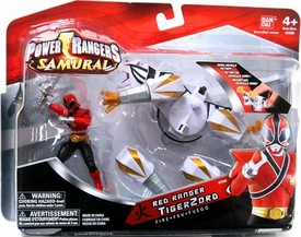 Power Rangers Samurai Vehicle & Action Figure Red Ranger TigerZord [Fire]
