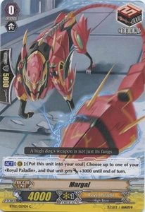 Cardfight Vanguard ENGLISH Onslaught of Dragon Souls Single Card Common BT02-059EN Margal