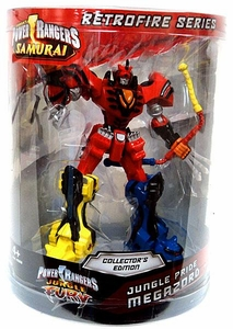 Power Rangers Retrofire Series Action Figure Jungle Pride Megazord [Jungle Fury]
