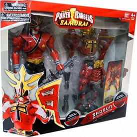 Power Rangers Samurai 12 Inch Action Figure Shogun Battlized Ranger