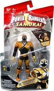 Power Rangers Samurai 6.5 Inch Action Figure SWITCH Morphin' Light Ranger