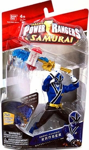 Power Rangers Samurai 6.5 Inch Action Figure SWORD Morphin' Blue Ranger