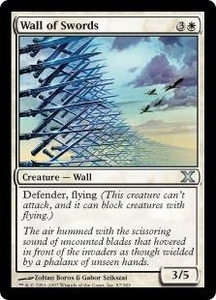 Magic the Gathering Tenth Edition Single Card Uncommon #57 Wall of Swords