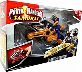 Power Rangers Samurai Disc Cycle Light [Includes 4 Inch Light Ranger Action Figure]