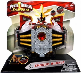 Power Rangers Samurai Deluxe Battle Gear Roleplay Toy Shogun Buckle