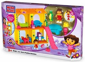 Dora The Explorer Mega Bloks Set #3082 Dora's Playtime Adventure