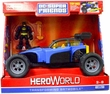 DC Super Friends Hero World Exclusive Action Figure & Deluxe Vehicle Transforming Batmobile