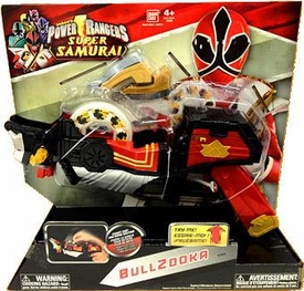 Power Rangers Samurai Deluxe Battle Gear Roleplay Toy Bullzooka